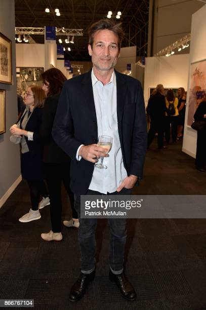Norbert Michalke attends the IFPDA Fine Art Print Fair Opening Preview at The Jacob K Javits Convention Center on October 25 2017 in New York City