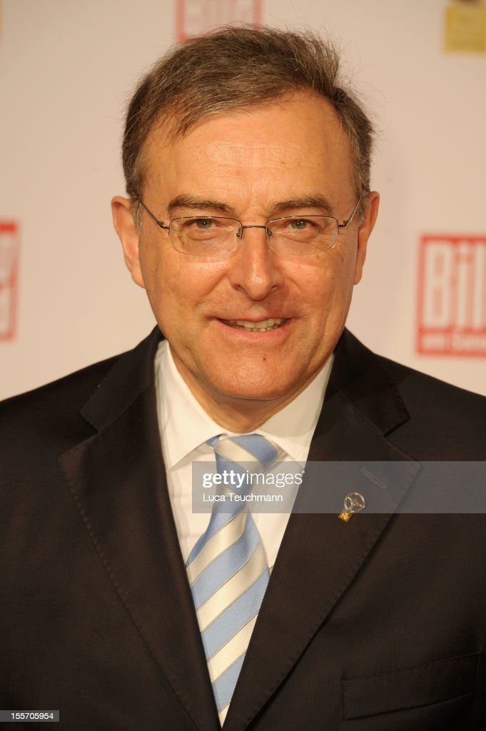 Norbert Reithofer attends 'Goldenes Lenkrad' Award 2012 at Axel-Springer Haus on November 7, 2012 in Berlin, Germany.