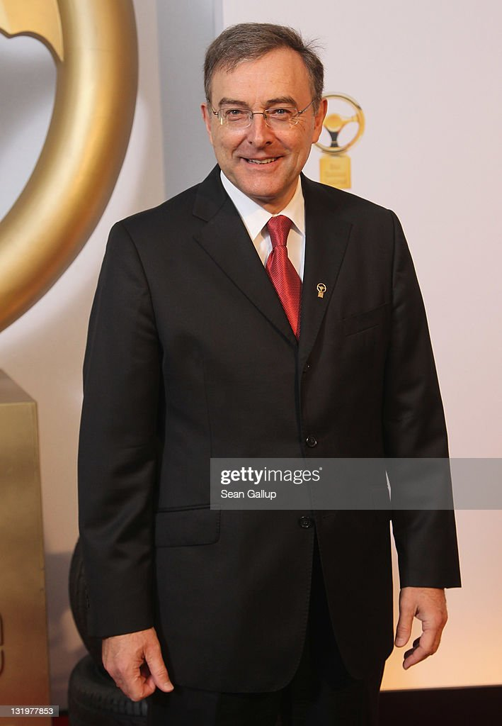 Norbert Reithofer, Chairman of BMW, attends 'Das Goldene Lenkrad 2011' Awards at Axel-Springer Haus on November 9, 2011 in Berlin, Germany.