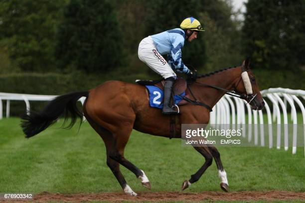 Norborne Bandit ridden by Harry Skelton going to post for the Betfair iPhone Android App Handicap Chase
