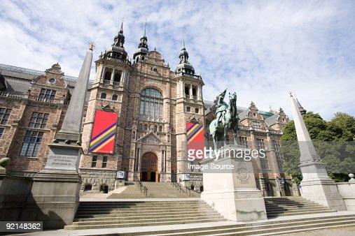 Nordic museum in stockholm