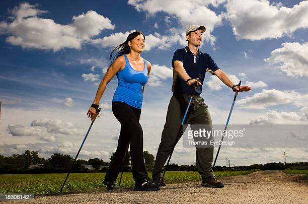 Nordic Walking-Unterricht