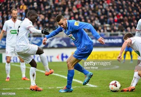 Nordine benaries pictures getty images - Amiens lille coupe de france ...