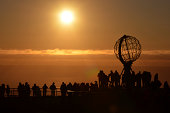 North Cape of europe in Norway