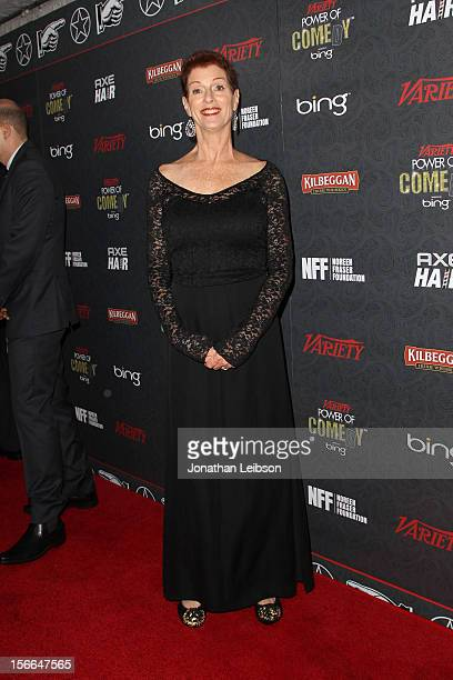 Noreen Fraser arrives at Variety's 3rd annual Power of Comedy event presented by Bing benefiting the Noreen Fraser Foundation held at Avalon on...