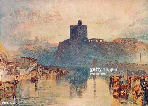 Norham Castle' 1909 From The Watercolours of J M W Turner text by W G Rawlinson and A J Finberg