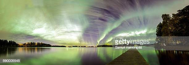 Norhern Lights panorama