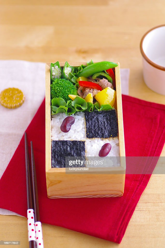 Nori-ben(Japanese traditional Bento)