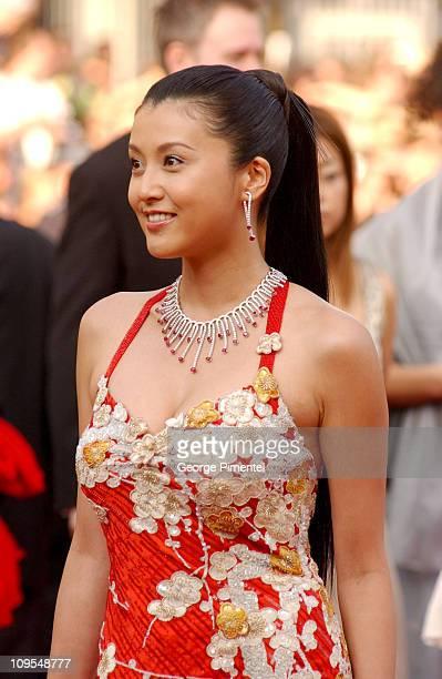 Norika Fujiwara during 2004 Cannes Film Festival 'Shrek 2' Premiere at Palais Du Festival in Cannes France