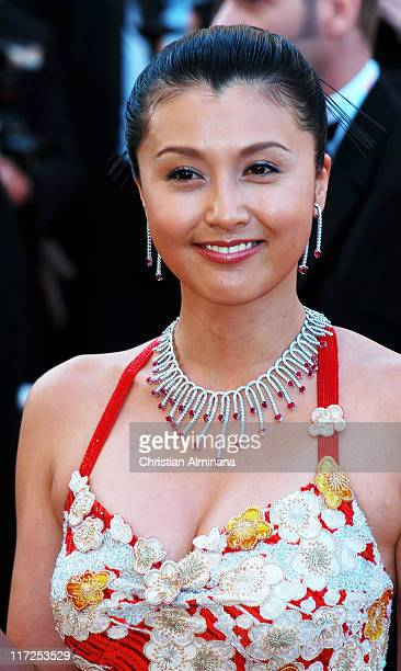 Norika Fujiwara during 2004 Cannes Film Festival Shrek 2 Premiere at Palais Du Festival in Cannes France