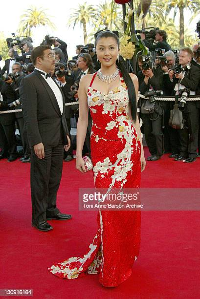 Norika Fujiwara during 2004 Cannes Film Festival 'Shrek 2' Premiere at Palais Du Festival in Cannes France