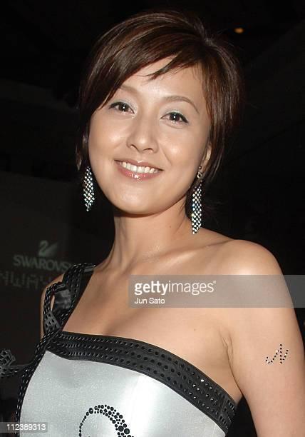 Norika Fujiwara during Swarovski Runway Rocks 2006 in Tokyo Afterparty at Park Hyatt Tokyo in Tokyo Japan