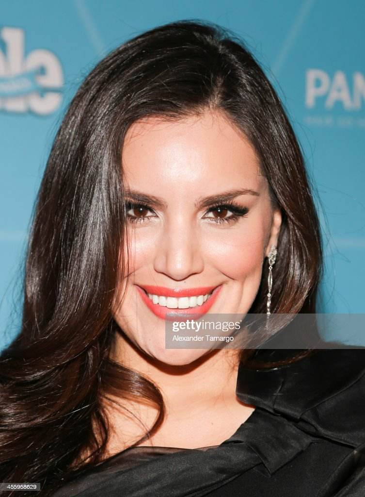 Norka arrives at the Estrellas Del Ano De People En Espanol party at The James Royal Palm Hotel on December 12, 2013 in Miami, Florida.