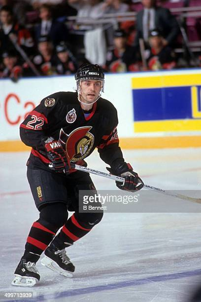 Norm Maciver of the Ottawa Senators skates on the ice during an NHL game against the New York Rangers on January 6 1993 at the Madison Square Garden...
