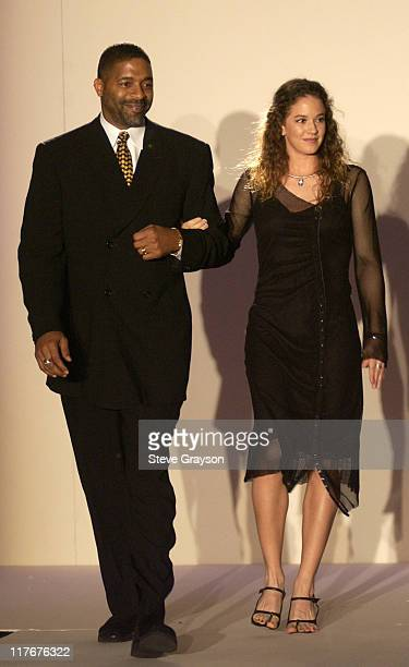 Norm Nixon Patty Schnyder during WTA Stars in Fashion Show to Benefit City of Hope Staples Center Foundation and Sanax WTA Tour Charities at The...