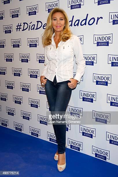 Norma Duval attends 'Dia del Cuidador' photocall at Espacio Daroca on October 22 2015 in Madrid Spain