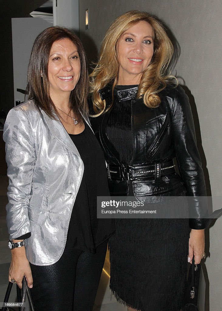 Norma Duval attends the launch of 'Enrique Ponce Un Torero Para La Historia' on May 27 2013 in Madrid Spain