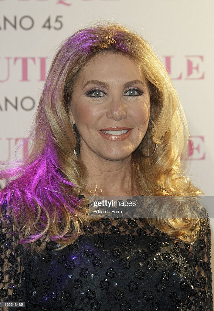 Norma Duval attends the photocall for the birthday party of Norma Duval at Le Boutique disco on April 4, 2013 in Madrid, Spain.