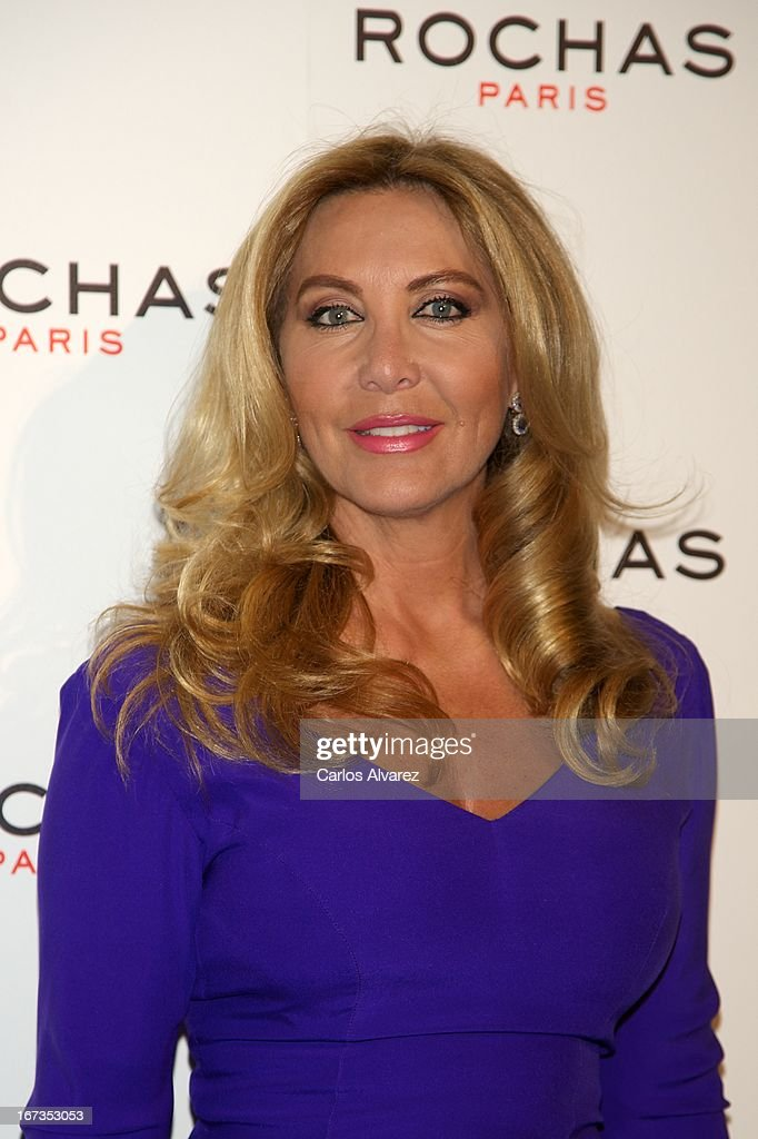 Norma Duval attends the Rochas event at the French embassy on April 24, 2013 in Madrid, Spain.