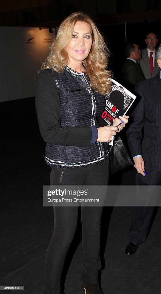 Norma Duval attends the second day of the International Flamenco Fashion Show 'SIMOF' on January 30 2014 in Seville Spain