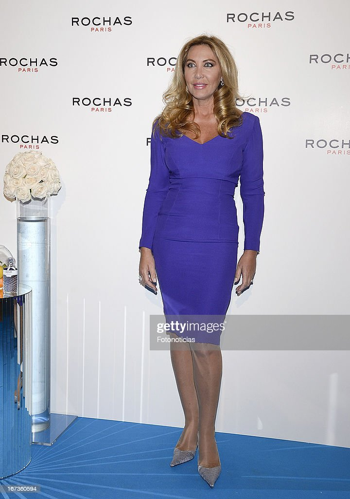 Norma Duval attends 'Tribut to Freshness and Rochas Women' event at the French embassy on April 24, 2013 in Madrid, Spain.