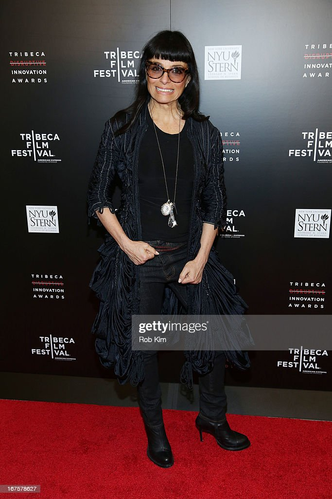 Norma Kamali attends Tribeca Disruptive Innovation Awards on April 26, 2013 in New York City.