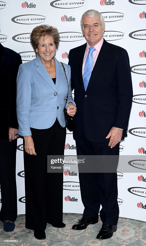 <a gi-track='captionPersonalityLinkClicked' href=/galleries/search?phrase=Norma+Major&family=editorial&specificpeople=159883 ng-click='$event.stopPropagation()'>Norma Major</a> and Sir John Major attend the Oldie of the Year awards at Simpsons in the Strand on February 4, 2014 in London, England.