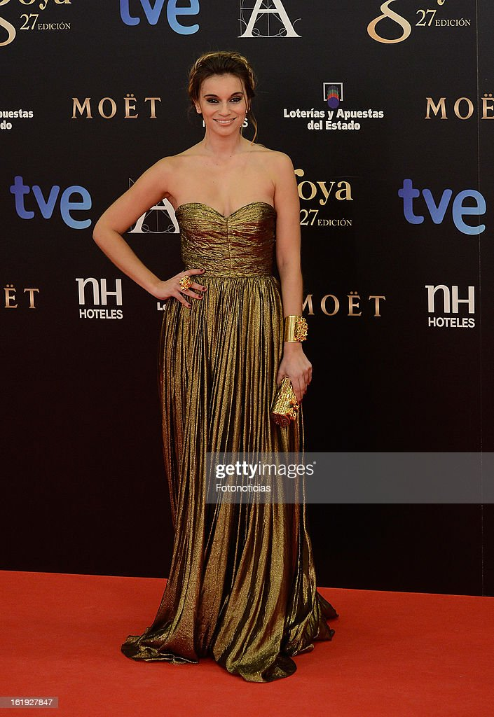 Norma Ruiz attends Goya Cinema Awards 2013 at Centro de Congresos Principe Felipe on February 17, 2013 in Madrid, Spain.