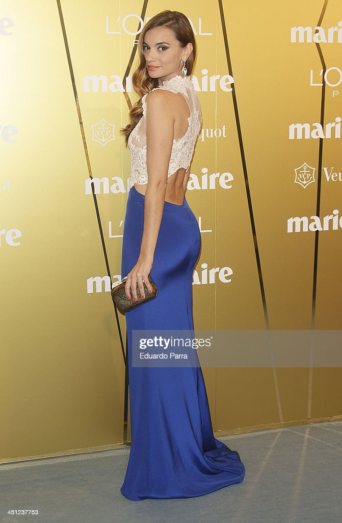 Norma Ruiz attends 'Marie Claire Prix de la moda' awards 2013 photocall at Residence of France on November 21 2013 in Madrid Spain