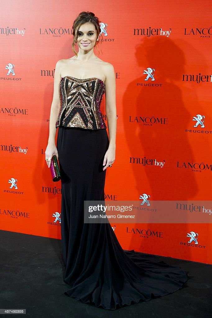 Norma Ruiz attends the 'Mujer de Hoy' awards 2013 at the Hotel Palace on December 17, 2013 in Madrid, Spain.