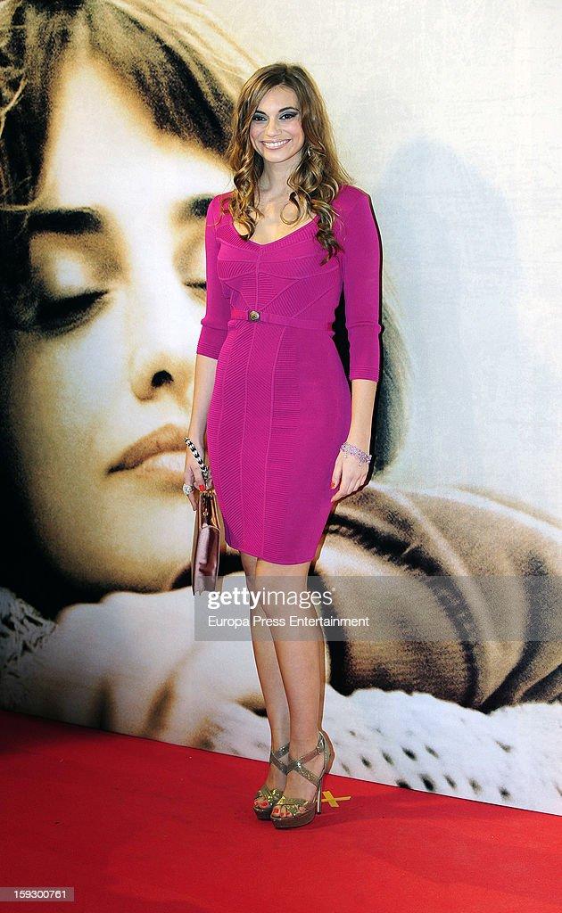 Norma Ruiz attends 'Venuto Al Mondo' premierte at Capitol Cinema on January 10, 2013 in Madrid, Spain.