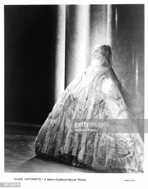 Norma Shearer publicity portrait for the film 'Marie Antoinette' 1938