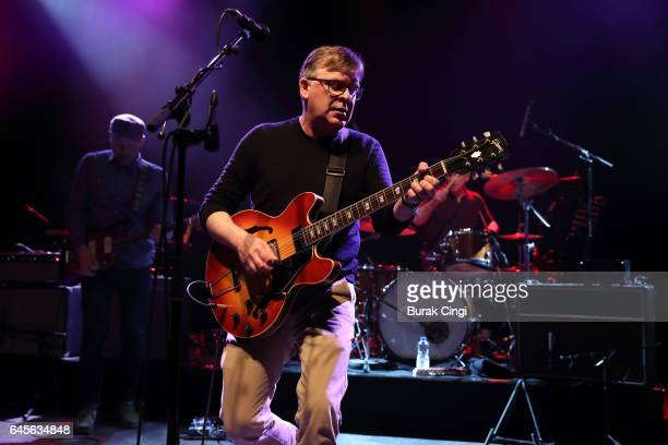 Norman Blake of Teenage Fanclub performs live at O2 Shepherd's Bush Empire on February 26 2017 in London England
