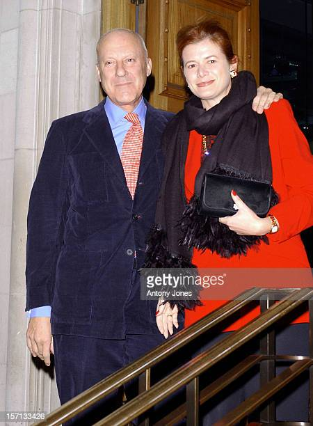 Norman Foster Attends A 'Tommys Campaign' Gala Dinner In Central London
