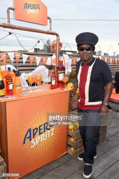 Norman Jay attends the Aperol Spritz Social on July 13 2017 in London England