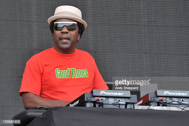 Norman Jay MBE performs on stage during The Big Chill Festival 2011 at Eastnor Castle Deer Park on August 7 2011 in Ledbury United Kingdom