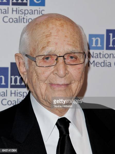 Norman Lear attends the National Hispanic Media Coalition's 20th Annual Impact Awards Gala at Regent Beverly Wilshire Hotel on February 24 2017 in...