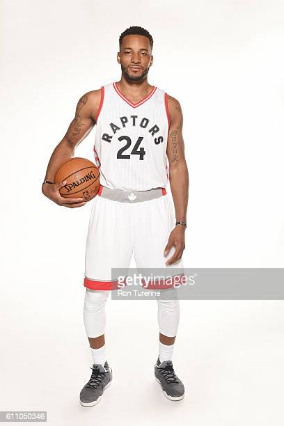 Norman Powell of the Toronto Raptors poses for a portrait during 2016 Media Day on September 28 2016 at the BioSteel Centre in Toronto Ontario Canada...