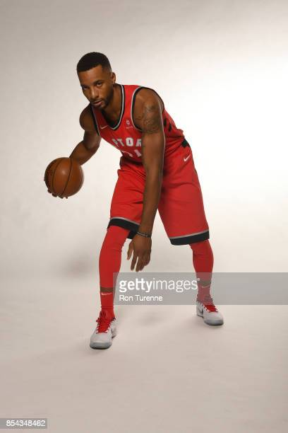 Norman Powell of the Toronto Raptors poses for a portrait during Media Day on September 25 2017 at the BioSteel Centre in Toronto Ontario Canada NOTE...