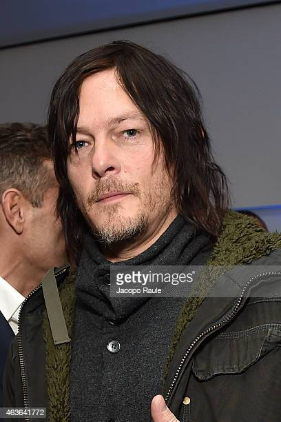 Norman Reedus attends ItaliaIndependent Boutique Opening After Party at the Sky Room at the New Museum on February 16 2015 in New York City