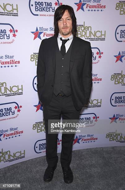 Norman Reedus attends the 2015 Annual Garden Brunch at the BeallWashington House on April 25 2015 in Washington DC