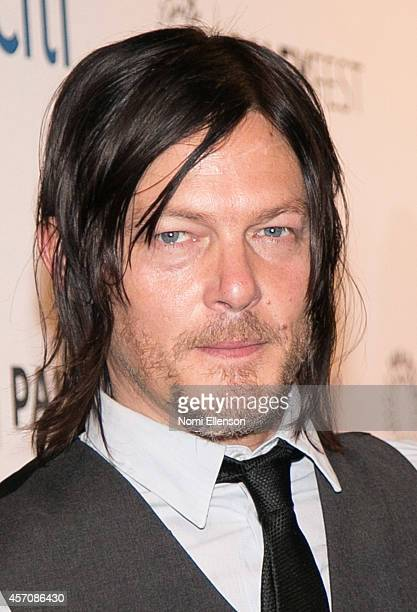 Norman Reedus attends the 2nd Annual Paleyfest New York Presents 'The Walking Dead' at Paley Center For Media on October 11 2014 in New York New York