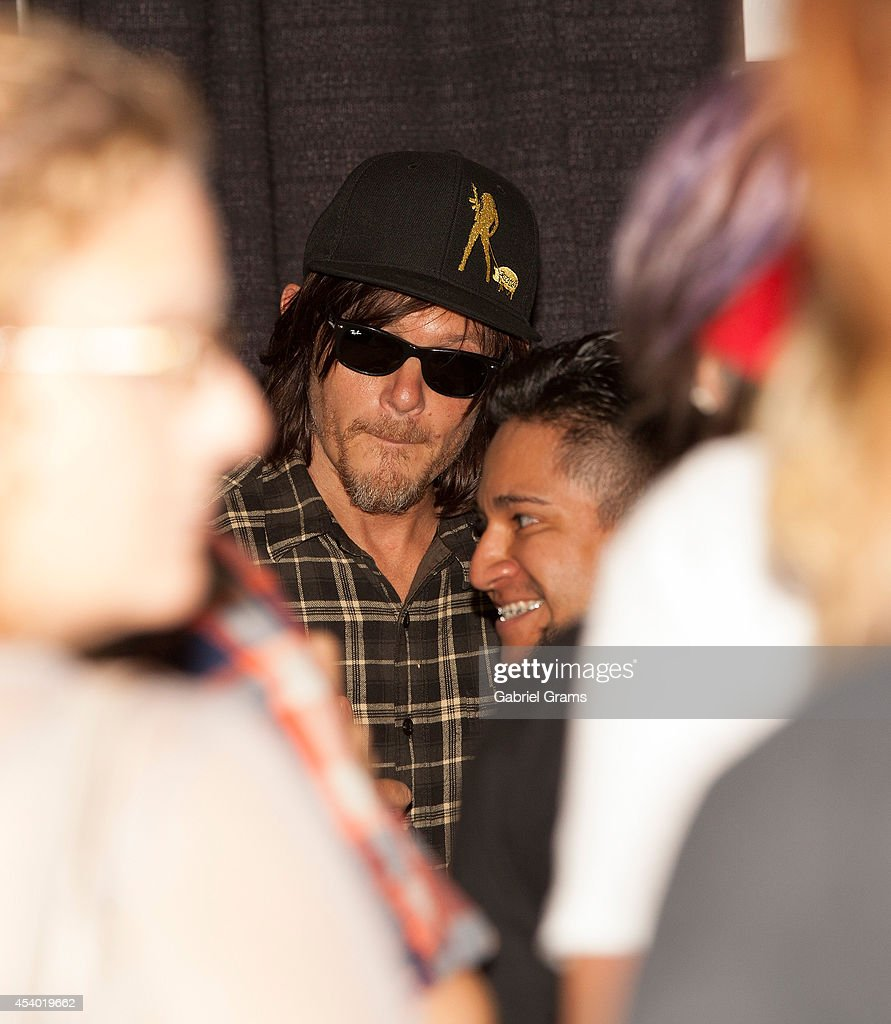 Norman Reedus attends Wizard World Chicago Comic Con 2014 at Donald E. Stephens Convention Center on August 23, 2014 in Chicago, Illinois.