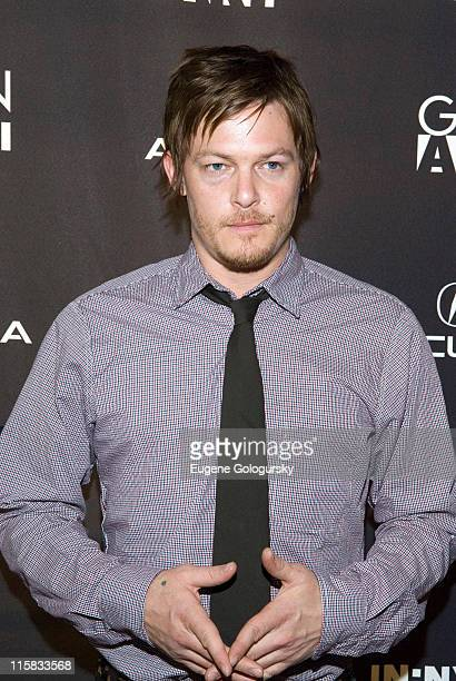 Norman Reedus during 12th Annual Gen Art Film Festival Launch Party at té casan in New York City New York United States