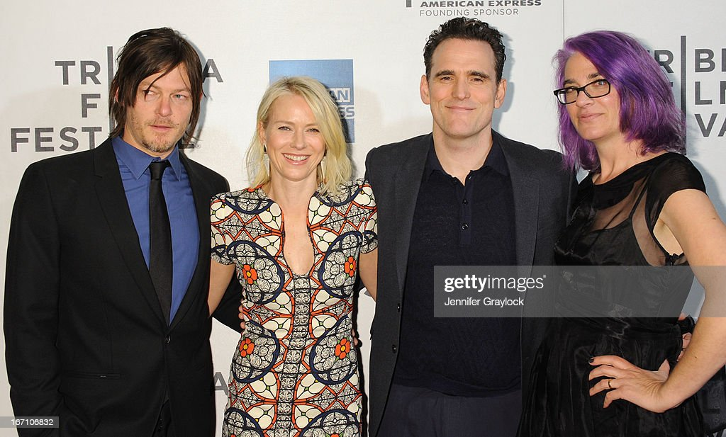 Norman Reedus, Naomi Watts, Matt Dillon and Director Laurie Collyer attend the screening of 'Sunlight Jr.' during the 2013 Tribeca Film Festival at BMCC Tribeca PAC on April 20, 2013 in New York City.