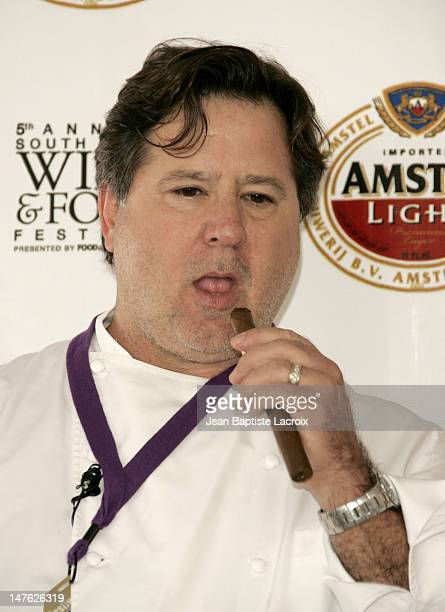 Norman Van Aken during 2006 South Beach Wine Food Festival 'Chefs Gone Wild' Conference at Ocean Drive in Miami Beach United States