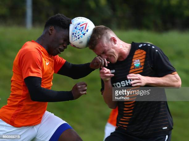 Norman Wabo of Southend United during Central League Cup match between Barnet Under 23s and Southend United Under 23s at Barnet Training Ground...