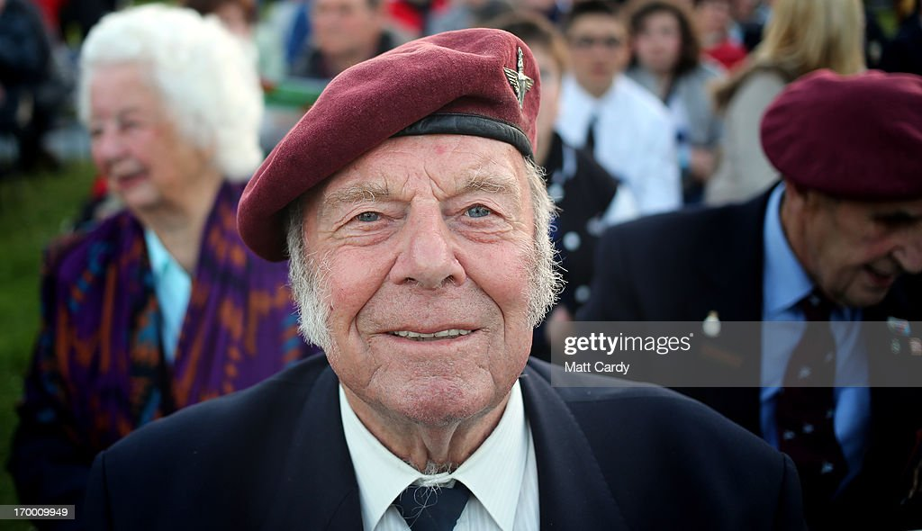 Normandy veteran, Ted Eaglen, 88, (who was a paratrooper dropped into Normandy in the early hours of D-Day) poses for a photograph as he visits the Pegasus Bridge Memorial Museum on June 5, 2013 near Caen, France. Across Normandy several hundred of the surviving veterans of the Normandy campaign are gathering to commemorate the 69th anniversary of the D-Day landings which eventually led to the Allied liberation of France in 1944. Next year, which will mark the 70th anniversary of the landings, is widely expected to be the last time that the veterans will gather in any great number.