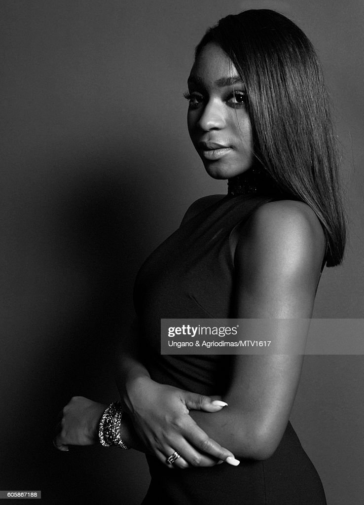Normani Hamilton of Fifth Harmony poses for a portrait at the 2016 MTV Video Music Awards at Madison Square Garden on August 28, 2016 in New York City.