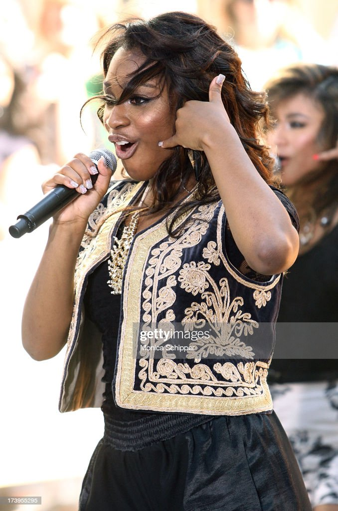 Normani Kordei of Fifth Harmony performs at NBC's TODAY Show on July 18, 2013 in New York City.
